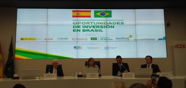 Una extensa delegación ministerial brasileña visita España