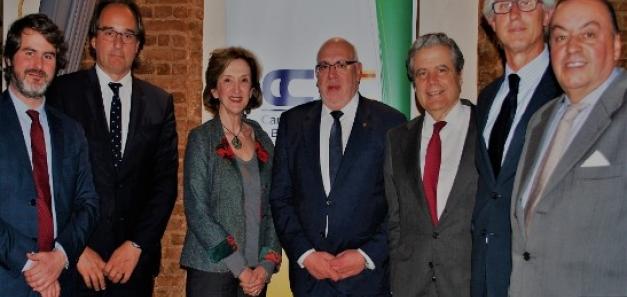 La CCBC celebra un dinar amb el Conseller d'Empresa i Coneixement de la Generalitat de Catalunya