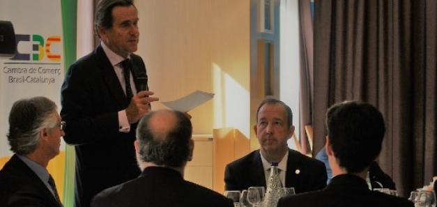 President del Port de Barcelona, convitat especial del primer dinar del l'any de la CCBC