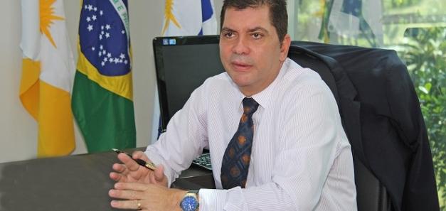 L'alcalde de Palmas, capital de l'estat brasiler de Tocantins, visita la seu de la CCBC