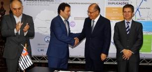 Arteris signa el nou acord de concessió de Via Paulista