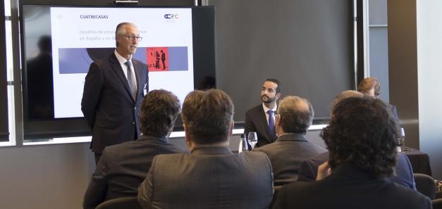 """Cuatrecasas celebra una jornada sobre els desafiaments del """"corporate compliance"""" a Espanya i el Brasil"""