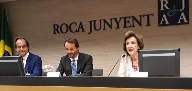 CCBC y Roca Junyent celebran juntos una jornada de promoción económica de Brasil