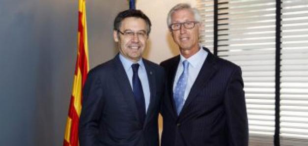 El FC Barcelona se une a la CCBC con la firma de un convenio para desarrollar proyectos conjuntos
