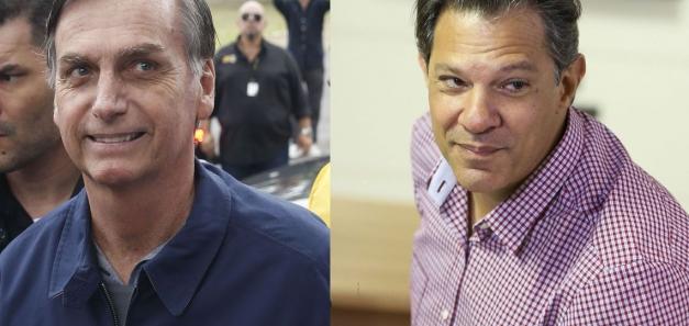 Jair Bolsonaro y Fernando Haddad se enfrentarán en la segunda vuelta de las elecciones presidenciales en Brasil