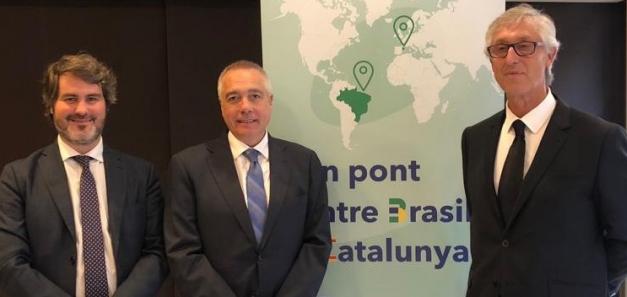 Comida con Pere Navarro, Delegado Especial del Estado en el Consorcio de la Zona Franca