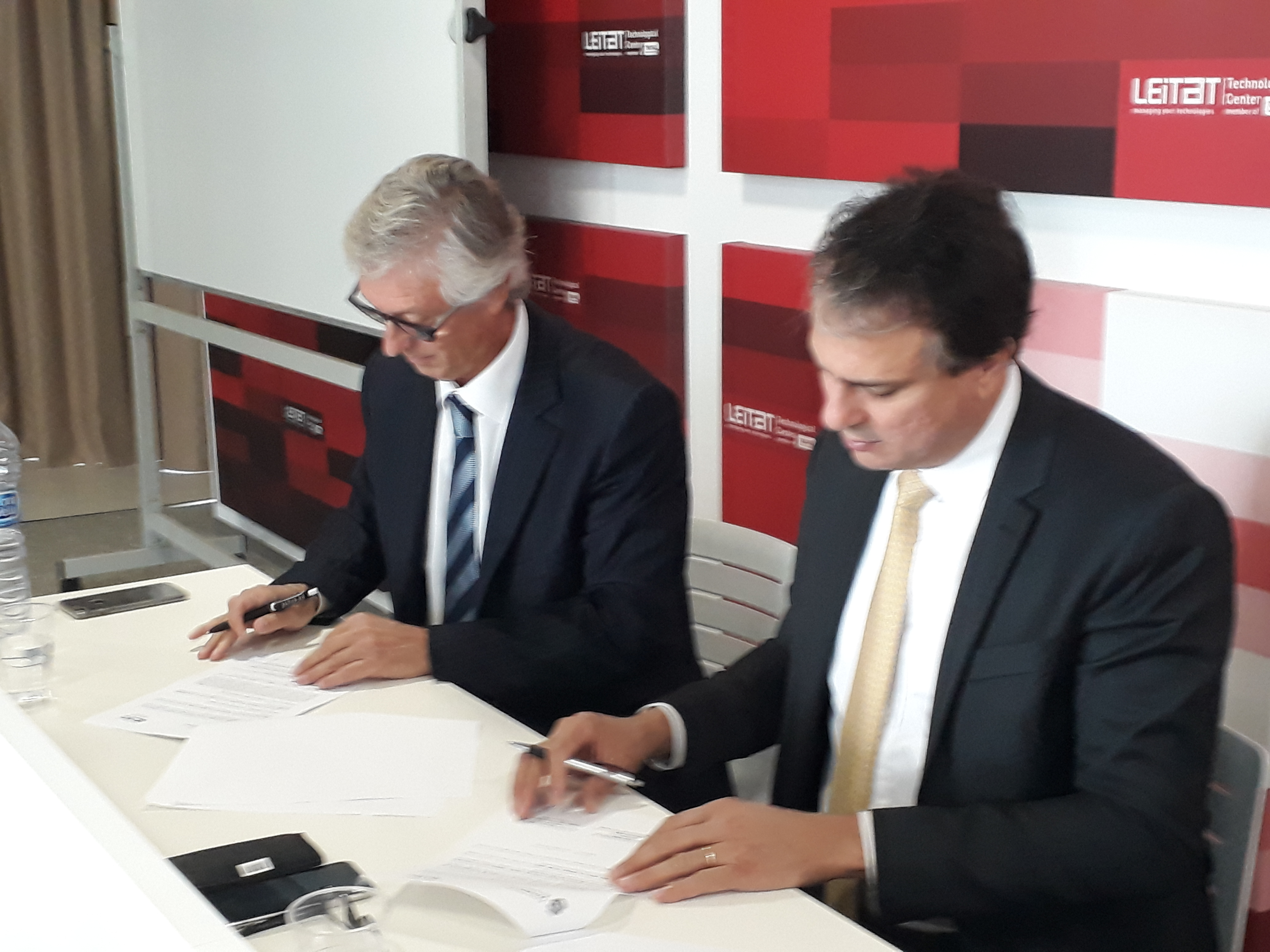 La CCBC firma un conveni amb el govern de Ceará