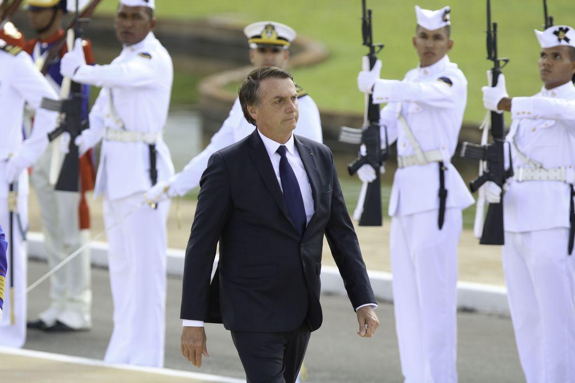 Jair Bolsonaro assumeix la presidència del Brasil