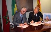 Còctel per celebrar la incorporació de Royal Air Maroc a la CCBC com a soci protector