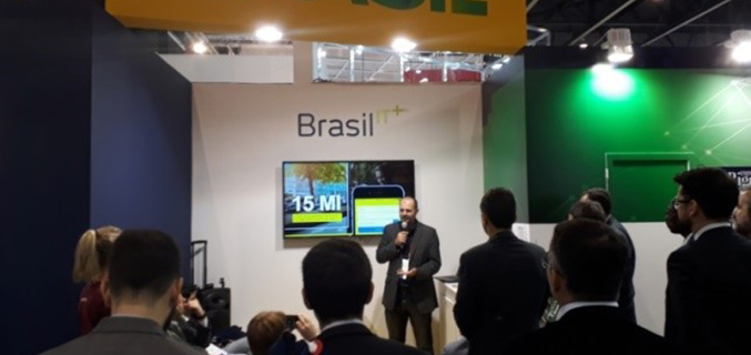 Important delegació brasilera al Mobile World Congress 2019