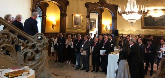Seminário Brasil-Espanha, realizado no Círculo Equestre de Barcelona, é sucesso absoluto