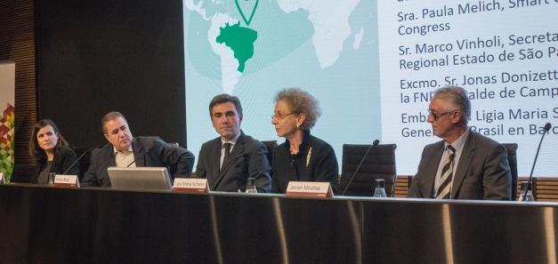 La CCBC reúne en Barcelona a alcaldes de Brasil para compartir los retos de las smart cities del futuro