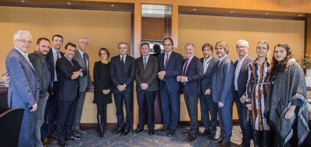Javier Faus, presidente del Cercle d'Economia, protagoniza una nueva comida de negocios de la CCBC