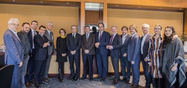 Javier Faus, president de Cercle d'Economia, protagonitza un nou dinar de negocis de la CCBC