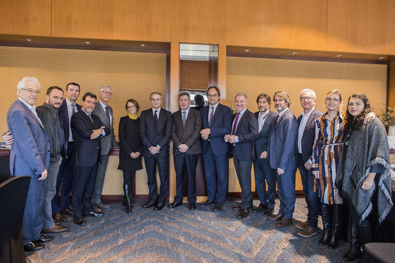 Javier Faus, presidente do Círculo de Economia, protagoniza um novo almoço de negócios da CCBC