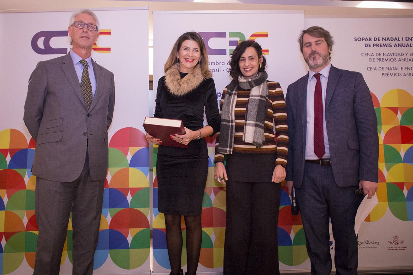 La CCBC entrega sus premios de honor en la cena de Navidad