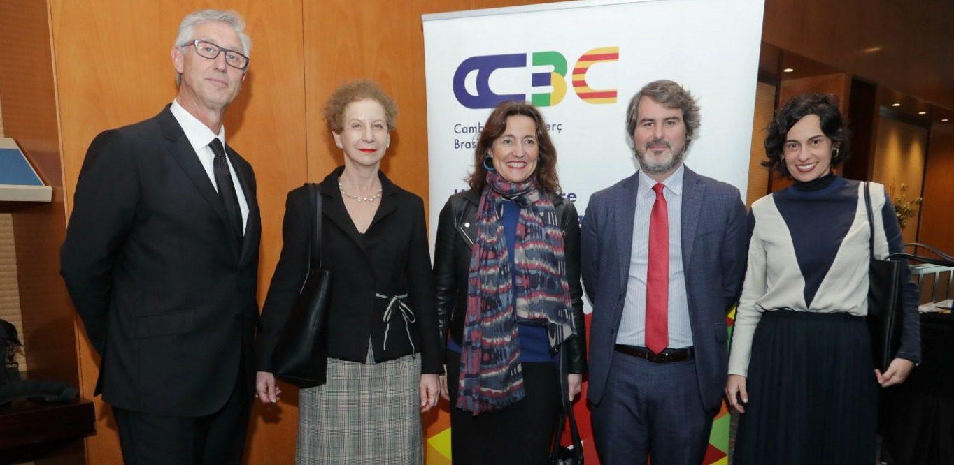 La presidenta del Port de Barcelona, Mercè Conesa, participará en la próxima misión empresarial de la CCBC a Brasil