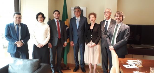 Reunió amb el Secretari Executiu de Tecnologia del Brasil