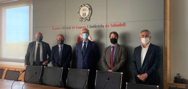 La CCBC y las cámaras catalanas se reúnen para impulsar la introducción de empresas en este gran mercado sudamericano