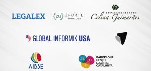 Legalex, Z Forte Morales, Celina Guimarães Empreendimentos, Global Informix, Valisa, AIBBE y Barcelona-Catalunya Centre Logístic, novos sócios da CCBC.