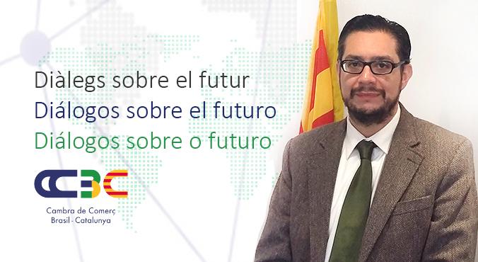 """Josep Buades, director de l'oficina d'ACCIÓ a São Paulo, protagonitza una nova sessió del cicle """"Diàlegs sobre el futur"""""""